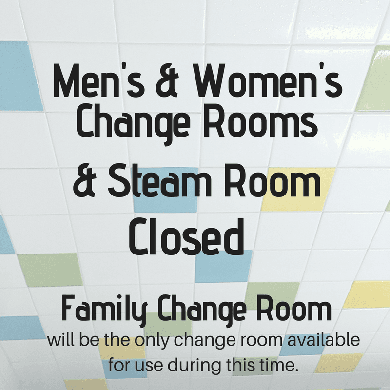 Change Rooms Closed