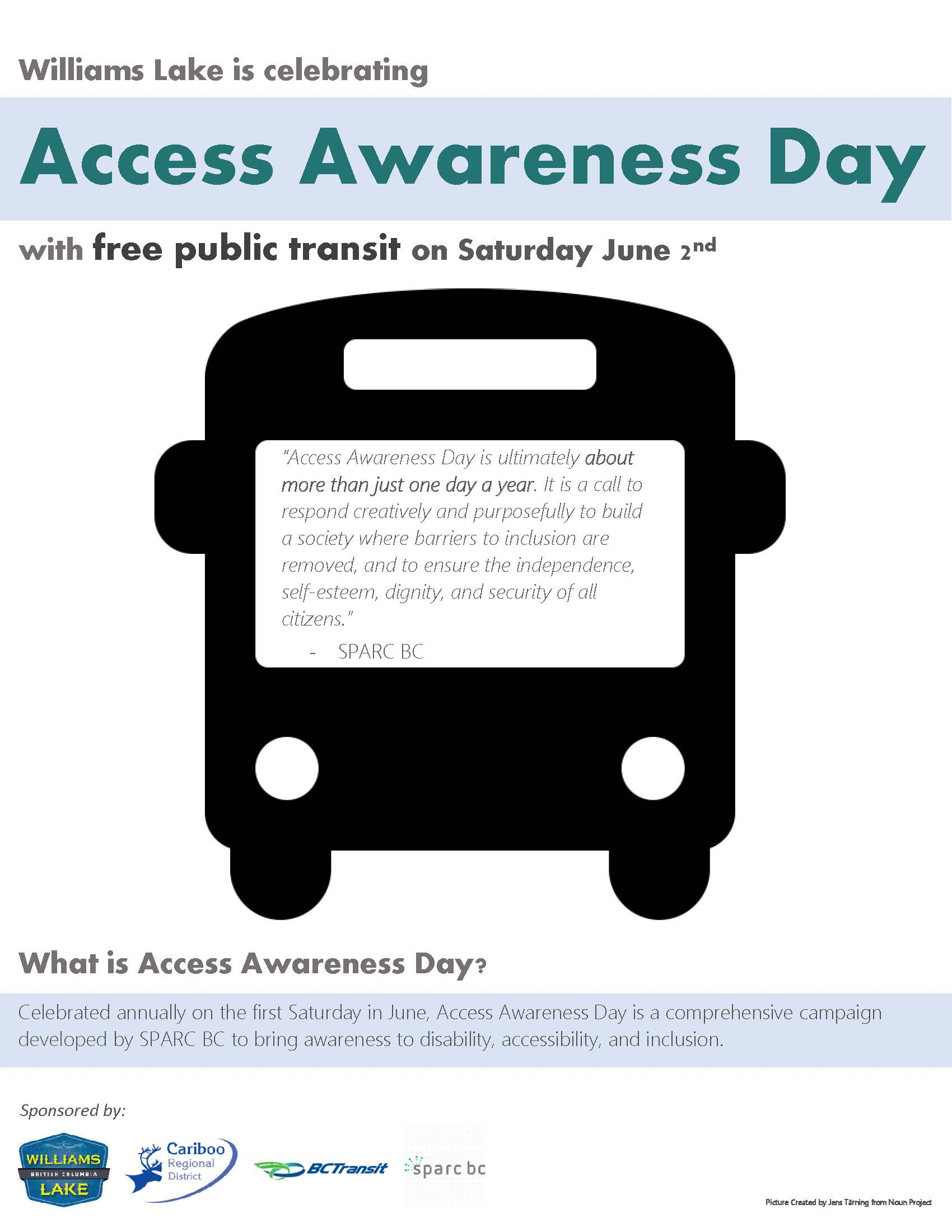 Access Awareness Day Poster2018