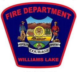 Williams Lake Fire Department Logo