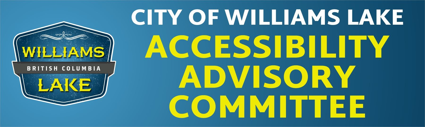 Accessibility Advisory Committee Banner