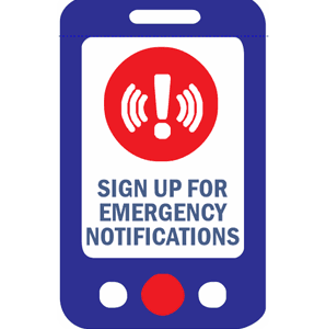 Emergency Notifications Sign Up 298X300