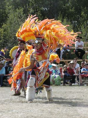 CoWL First Nation Dancer